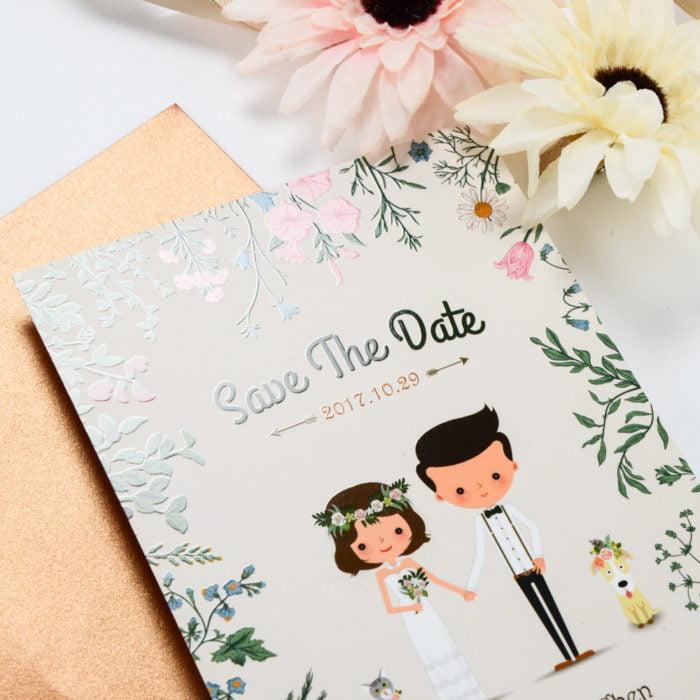 wedding invitation QT205米 2 20180612