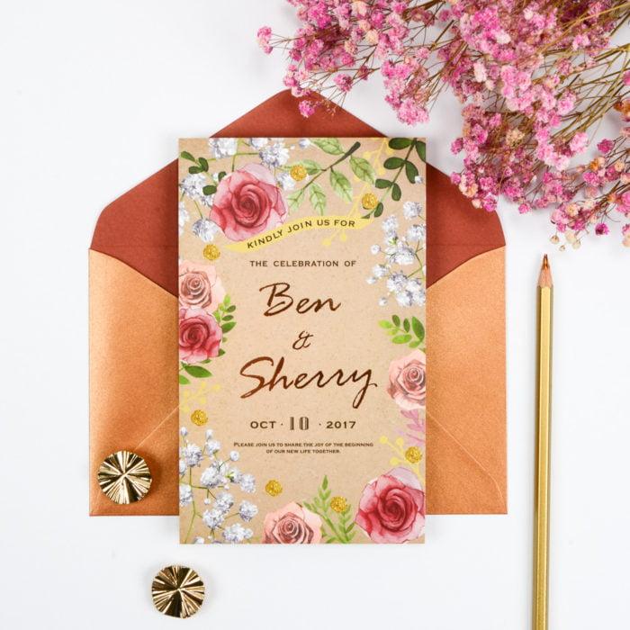 wedding invitation RT208 1 20180625