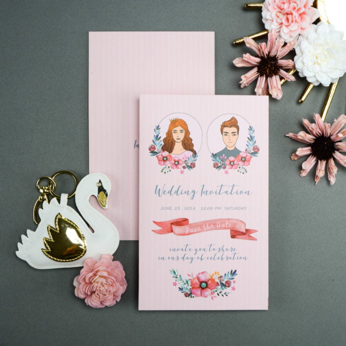 wedding invitation QT206 1 20180606