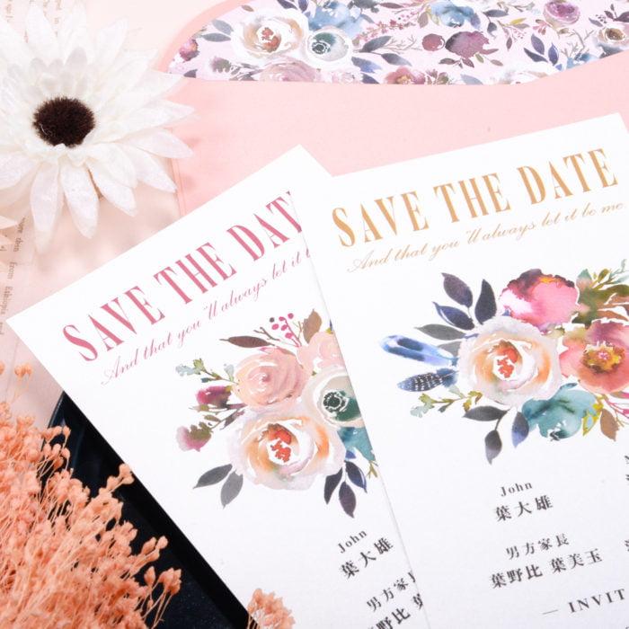 wedding invitation RT301–5 20180726