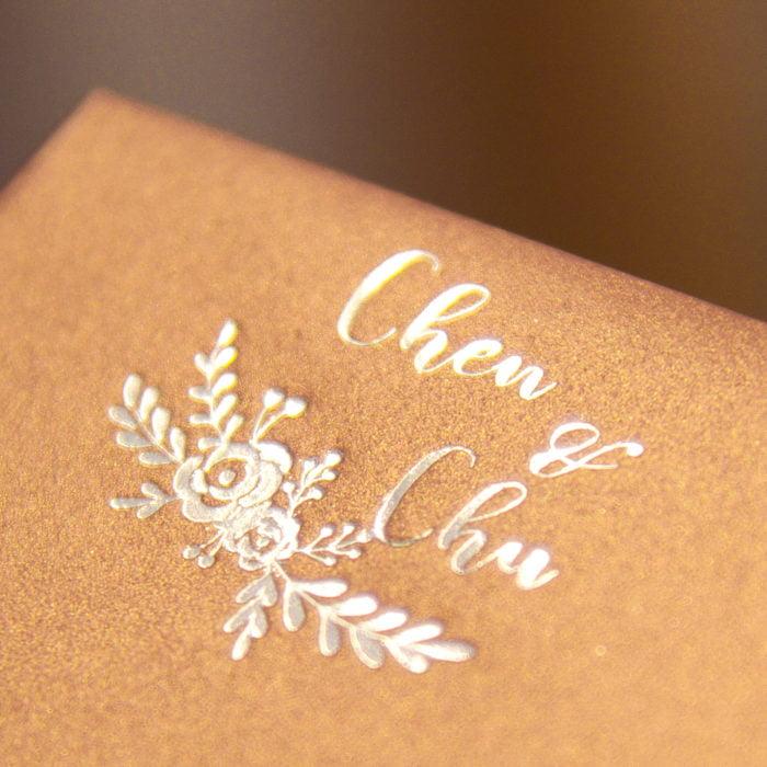 Envelope 可可金 燙銀 20180315