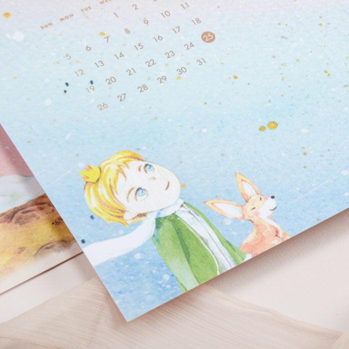 SP207《小王子》童話喜帖