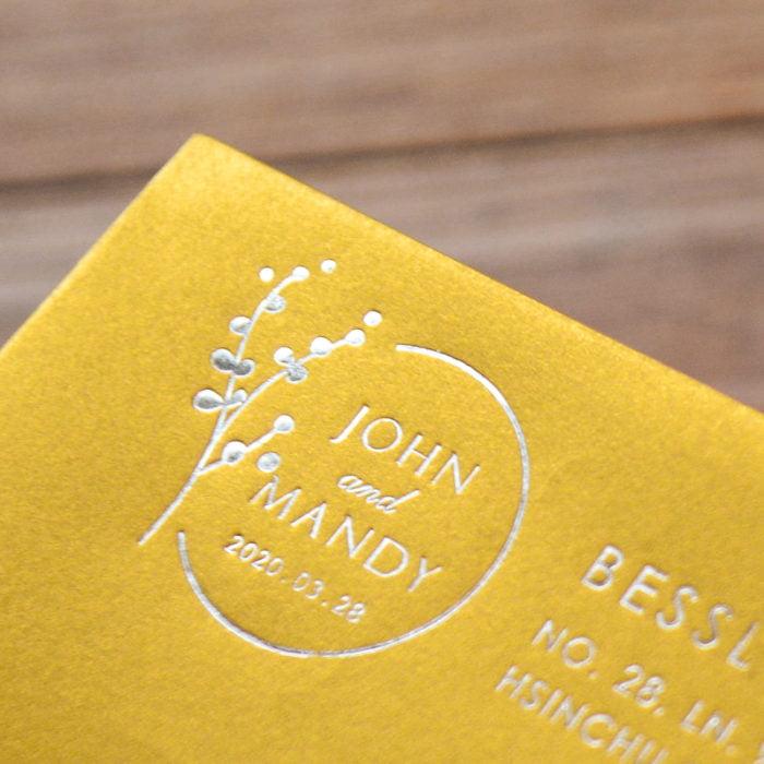 Envelope 中式金 燙銀 20200106